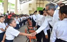 Encabeza titular de SEPH ceremonia de clausura en la Escuela Primaria Revolución en el municipio de Pisaflores4
