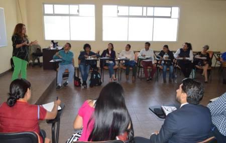 Facilitadoras y facilitadores del Centro de Justicia Restaurativa de la PGJEH cursan Maestría en MASC1