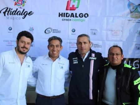 """Fomentando el Turismo de Aventura, Ángel López, recorrerá todo el Estado de Hidalgo en motocicleta """"84 HIDALGO"""""""