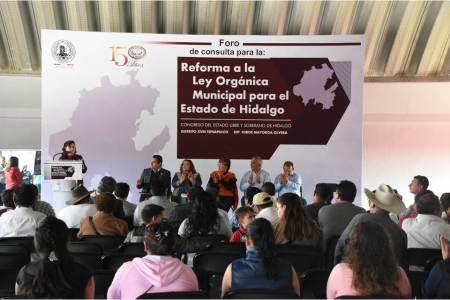 Hidalgo requiere de un marco jurídico municipal fortalecido, sostienen representantes