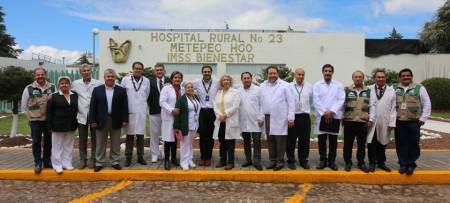 IMSS Hidalgo llevó a cabo Jornada Quirúrgica Reconstructiva Pediátrica