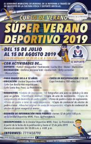Invitan a niñas y niños de Mineral de la Reforma a participar en el Super Verano Deportivo 2019 3