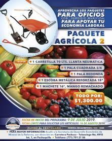 Lanza Mineral de la Reforma séptima campaña de paquetes de herramientas a bajo costo 4