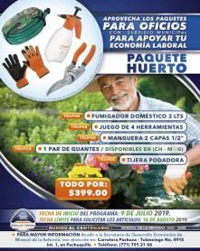 Lanza Mineral de la Reforma séptima campaña de paquetes de herramientas a bajo costo 5