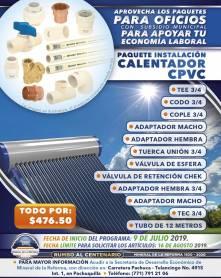 Lanza Mineral de la Reforma séptima campaña de paquetes de herramientas a bajo costo 6