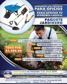Lanza Mineral de la Reforma séptima campaña de paquetes de herramientas a bajo costo 8