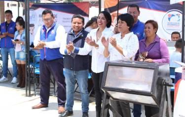 """Lleva Mineral de la Reforma programa """"Acciones por tu Colonia"""" a NCPA Chacón1"""