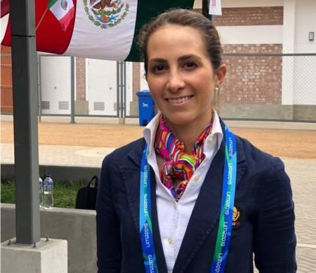 Martha del Valle a la final de adiestramiento en los Juegos Panamericanos Lima 2019
