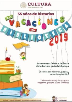 """Municipio de Tolcayuca invita a """"Mis Vacaciones en la Biblioteca"""" 4"""