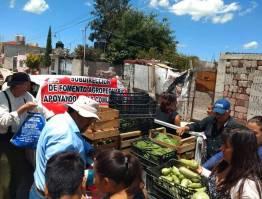 Presidencia Municipal y DIF Tizayuca donan verduras a la población1