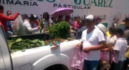 Presidencia Municipal y DIF Tizayuca donan verduras a la población5