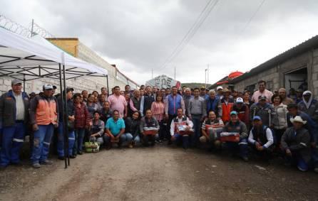Realiza Mineral de la Reforma, entrega de uniformes a 280 trabajadores de servicios municipales4