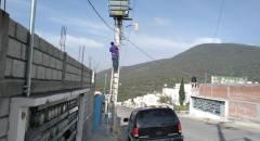 Realizan mantenimiento mejoramiento del alumbrado público en Tolcayuca1
