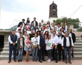 Realizarán 36 jóvenes Mexico-estadounidenses programa de Cultura y Voluntariado en Hidalgo1