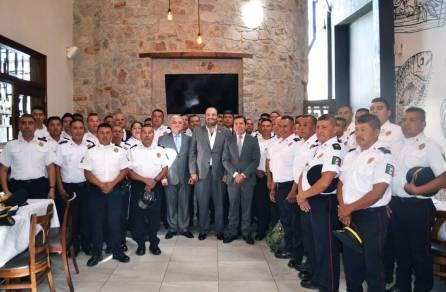 Reconocen a agentes de la Policía Industrial Bancaria de Hidalgo por desempeño ejemplar4