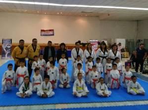 Se certifican alumnos de la Escuela Municipal de Taekwondo en Mineral de la Reforma 1