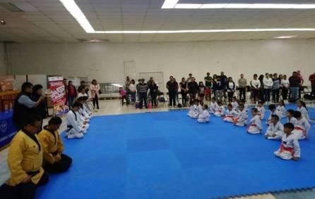 Se certifican alumnos de la Escuela Municipal de Taekwondo en Mineral de la Reforma 4