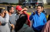 Se reune Raúl Camacho con vecinos del Fracc Don Pablo tras fuerte lluvia5