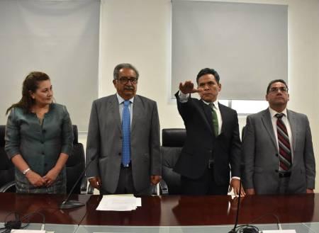 Secretario Atilano Rodríguez tomó protesta a Héctor Pedraza Olguín como director general del COBAEH