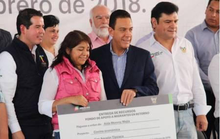 Sedeso mantiene apoyo a migrantes y lanza convocatoria 2019-1