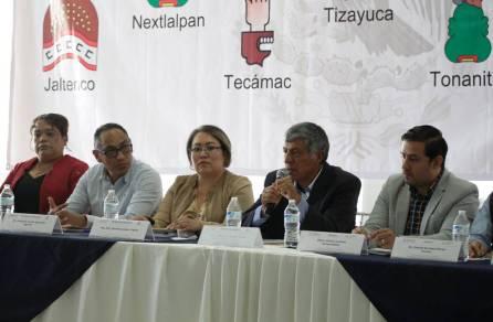 Tizayuca sede de la Segunda Sesión Ordinaria del Programa Territorial Operativo de la Zona Norte1