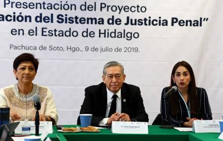Trabajan Naciones Unidas y Gobierno de Hidalgo en la Consolidación del Sistema de Justicia Penal1