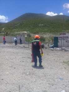 Una persona falleció al estallar un polvorín en Santiago de Anaya2
