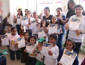 """389 de niños, concluyen curso de verano """"Mis Vacaciones en la Biblioteca"""" en Mineral de la Reforma 2"""