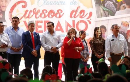 450 Niños de Tizayuca concluyen Curso de Verano 2019-4