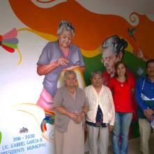 Alcalde de Tizayuca inaugura mural elaborado por adultos mayores1