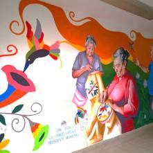 Alcalde de Tizayuca inaugura mural elaborado por adultos mayores3
