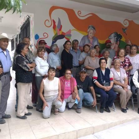 Alcalde de Tizayuca inaugura mural elaborado por adultos mayores4