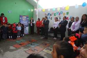Arranca alcalde Raúl Camacho Baños, entrega de zapatos escolares en prescolares de Mineral de la Reforma por 3er. año consecutivo