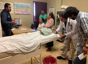 Brinda Omar Fayad apoyo integral a víctimas de accidente en Zimapán3