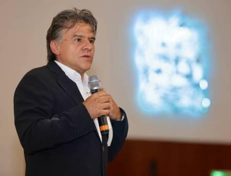Carlos Cuauhtémoc Sánchez, presente en la FUL 2019-1