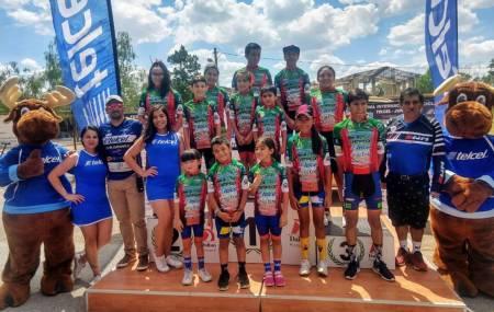 Ciclistas hidalgueneses brillan en el Festival Internacional de ciclismo junior 2019