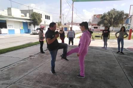 Concluye con éxito el Curso-Taller de Defensa Personal en Tolcayuca4