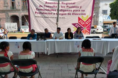 Cumple Congreso de Hidalgo añeja demanda social al realizar consulta indígena