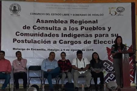 Cumple Congreso de Hidalgo añeja demanda social al realizar consulta indígena2