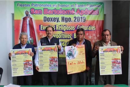 Doxey, celebrará su tradicional Feria Patronal, San Bartolomé Apóstol 2019
