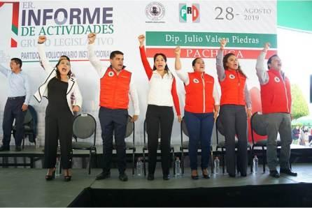 El PRI es un partido de proyectos consumados, Julio Valera4