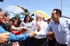 En Hidalgo nos llevamos bien con el gobernador Omar 10