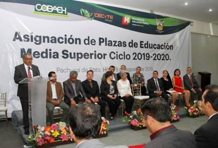 Encabeza titular de SEPH evento público de asignación de plazas en Educación Media Superior1