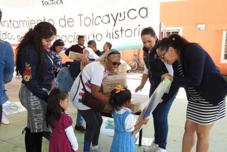 Entregan paquetes escolares al CAIC Tolcayuca4