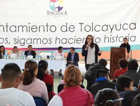 Entregan Programa Alimentario para niños no escolarizados en Tolcayuca3