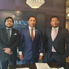 Firma alcalde Raúl Camacho Baños, convenio de colaboración con IMCO3