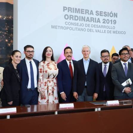 Firman gobiernos de CDMX, Edoméx y de Hidalgo Iniciativa Conjunta de Ley del Consejo de Desarrollo Metropolitano del Valle de México2