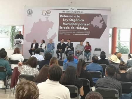 Foros de consulta municipal, trascendentales para funcionamiento interno, Quintanar Trejo