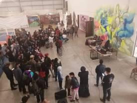 Graffiti, una expresión artística que invita a jóvenes a apropiarse de los espacios públicos en Mineral de la Reforma1