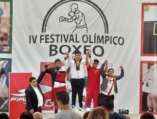 Gran actuación de pugilistas hidalguenses en el Festival Olímpico de Boxeo 2019-1